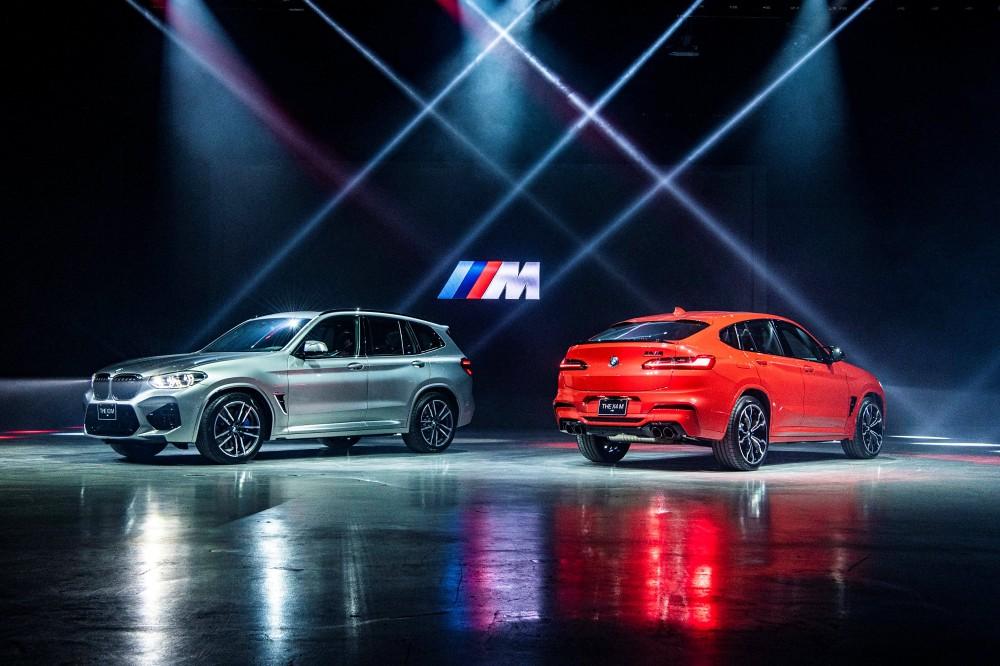 [新聞照片一] 全新BMW X3 M,  X4 M Competition正式上市