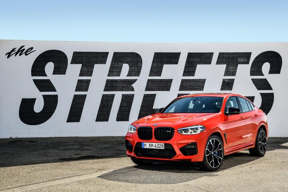 全新BMW X4 M Competition