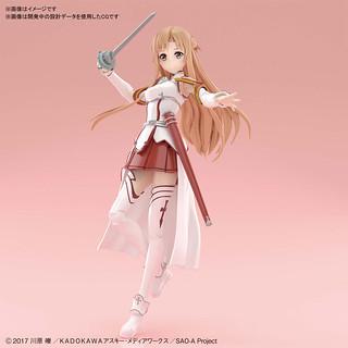 隔著螢幕香到不行!Figure-rise Standard《刀劍神域 Sword Art Online》亞絲娜(アスナ)組裝模型