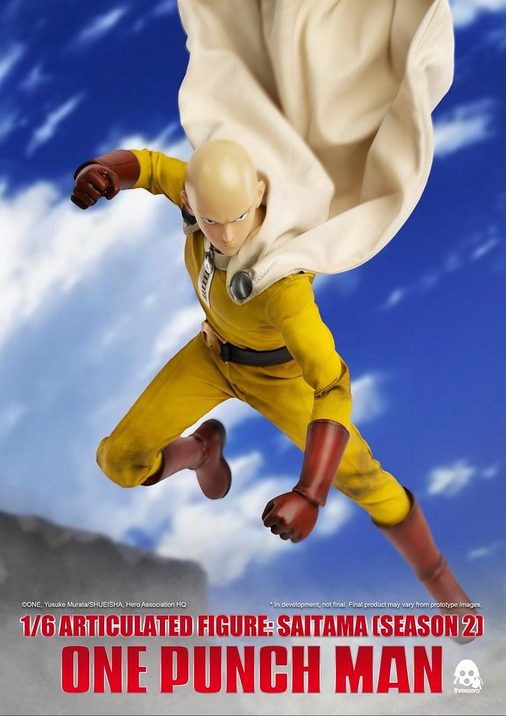 水球碳酸拳「輕浮克」參戰! threezero《一拳超人》埼玉 (第二季) Saitama (Season 2) 1/6 比例人偶作品 標準版/豪華版