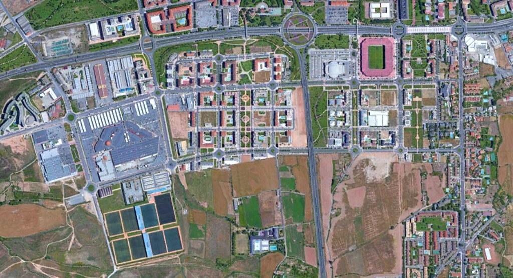 logroño suroeste, la rioja, las gaunas, después, urbanismo, planeamiento, urbano, desastre, urbanístico, construcción, rotondas, carretera