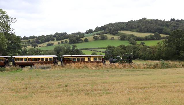 Heritage Train Heading to Welshpool