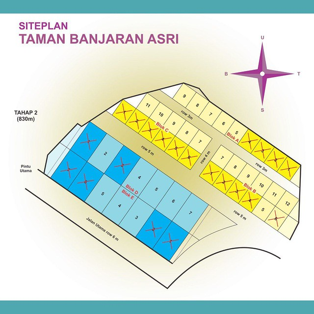 Siteplan Taman Banjaran Asri