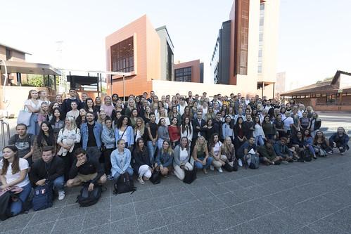03/09/2019 - Bienvenida a los nuevos estudiantes internacionales en el campus de Donostia