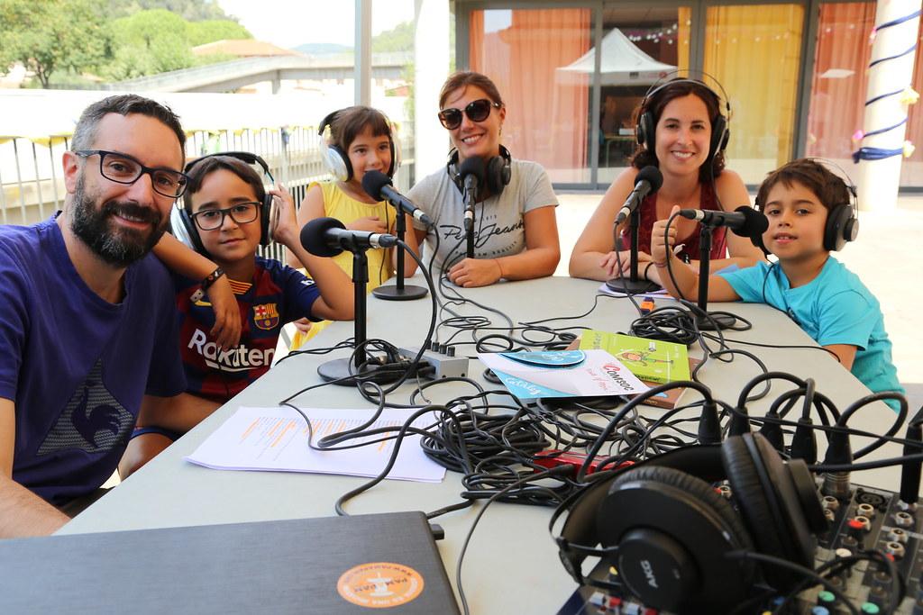 Taller de ràdio a Figaró - Montmany - 30/08/19