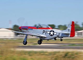 """N.A. TF-51 Mustang """"DiamondBack"""" S/n.45-11471 N51ZM"""