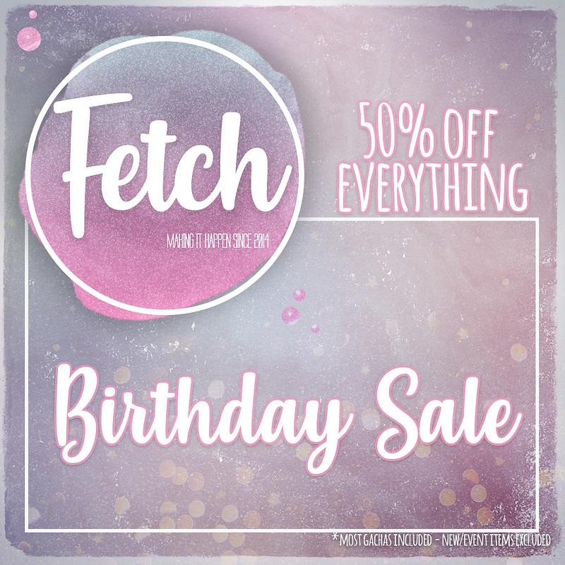 [Fetch] Birthday Sale!