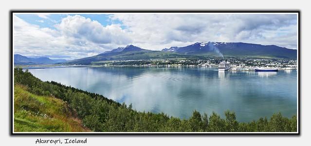 From the archieve: Akureyri pano
