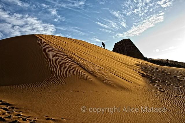 Meroe pyramids; SUDAN