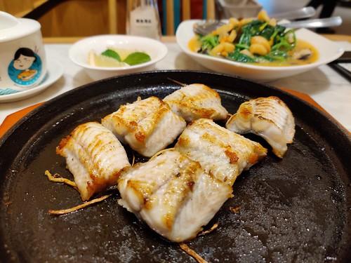 Putien's Pan-Fried Live Eel on Hot Plate