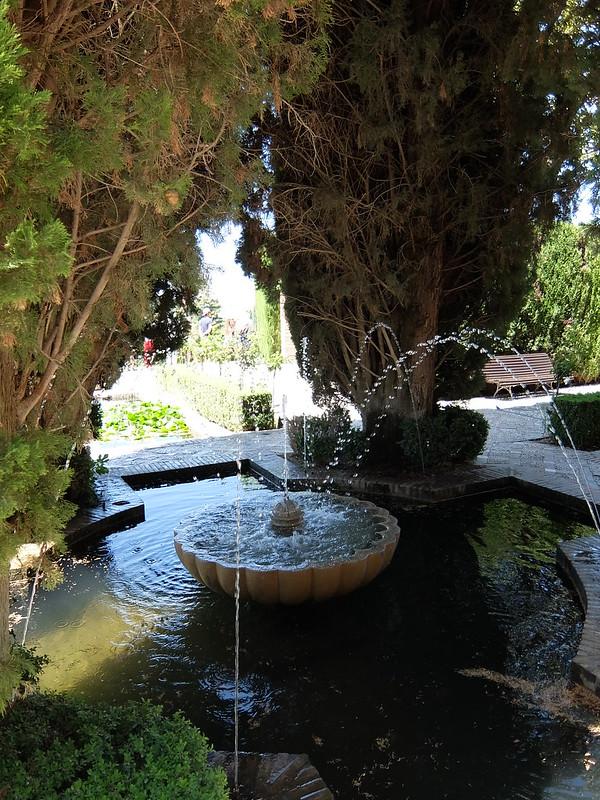 Альгамбра - Хенералифе - Фонтан