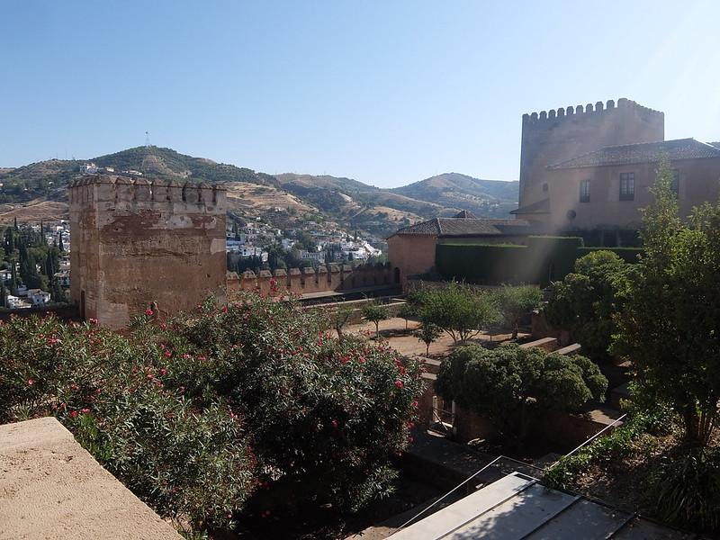 Альгамбра - Дворец Насридов - Двор Мачука
