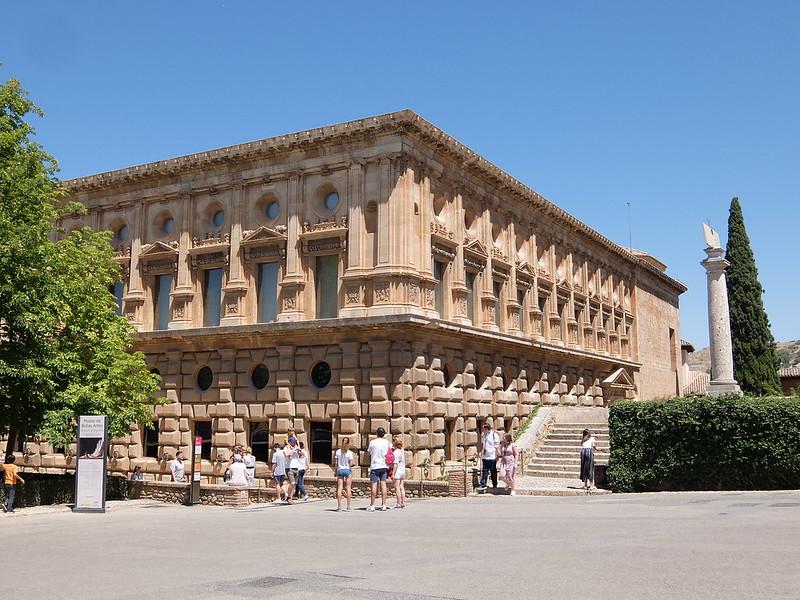 Альгамбра - Дворец Карла V