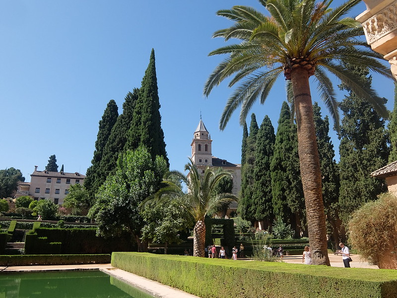 Альгамбра - В садах Парталь