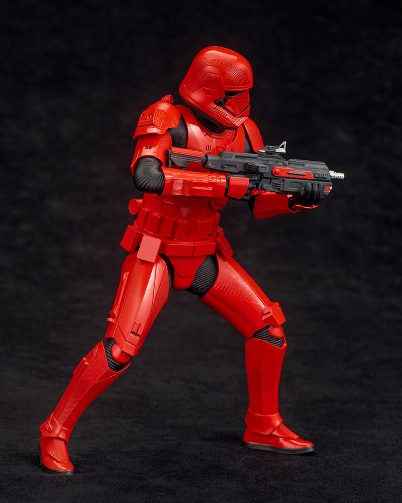 具備可折疊支撐腳架的大型爆能槍出現! 壽屋 ARTFX+ 系列《STAR WARS:天行者的崛起》西斯士兵 2 Pack シス・トルーパー 2パック 1/10 比例 PVC塗裝完成品