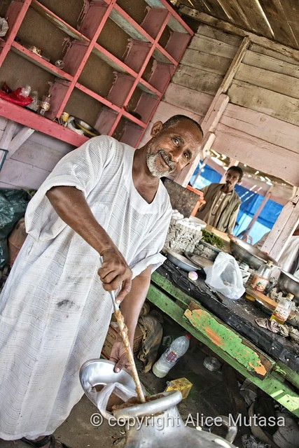 Mohamed - Ful chef, near Suakin, Sudan