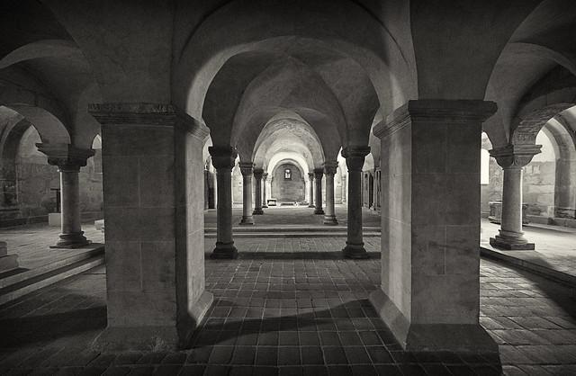 Krypta in der Stiftskirche St. Servatius (Quedlinburg)