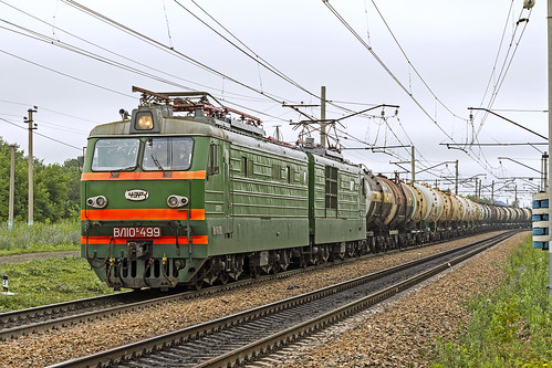 rzd russianrailways train freight electric 3kvdc vl10k overcast yuzhnouralskaya