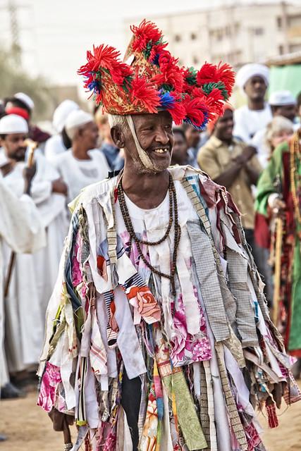 Sudanese Sufi ceremony; Omdurman