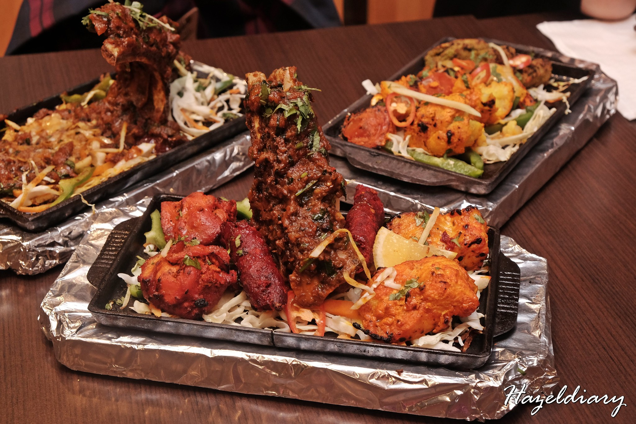 Indian Express-Tandoori Mix Grill Platter