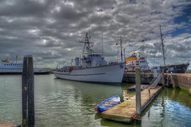 Harlingen Hafen Schiffe