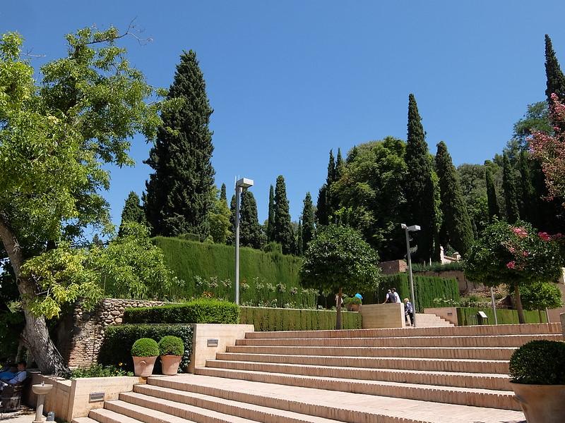 Альгамбра - Хенералифе - Вход в сады
