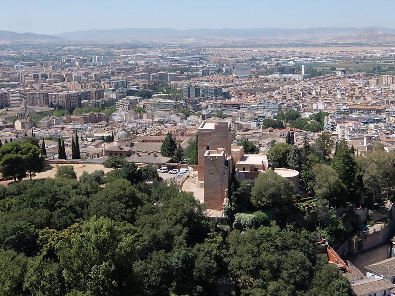 Гранада - Вид с Алькасабы