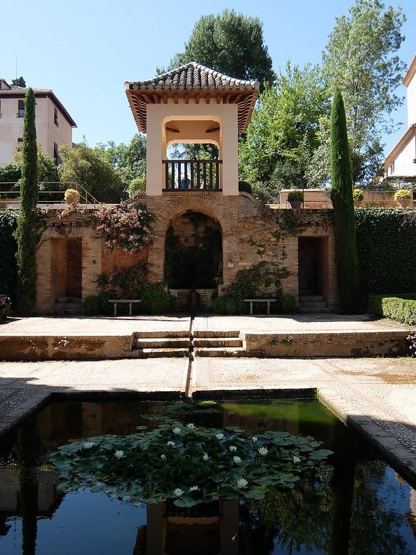 Альгамбра - Беседка в Партали