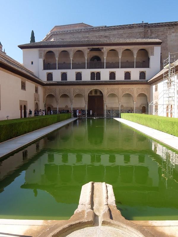 Альгамбра - Дворец Насридов - Миртовый дворик
