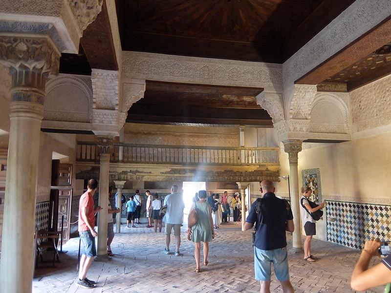 Альгамбра - Дворец Насридов - Зал Мешуара