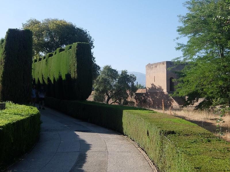 Альгамбра - Зеленый коридор