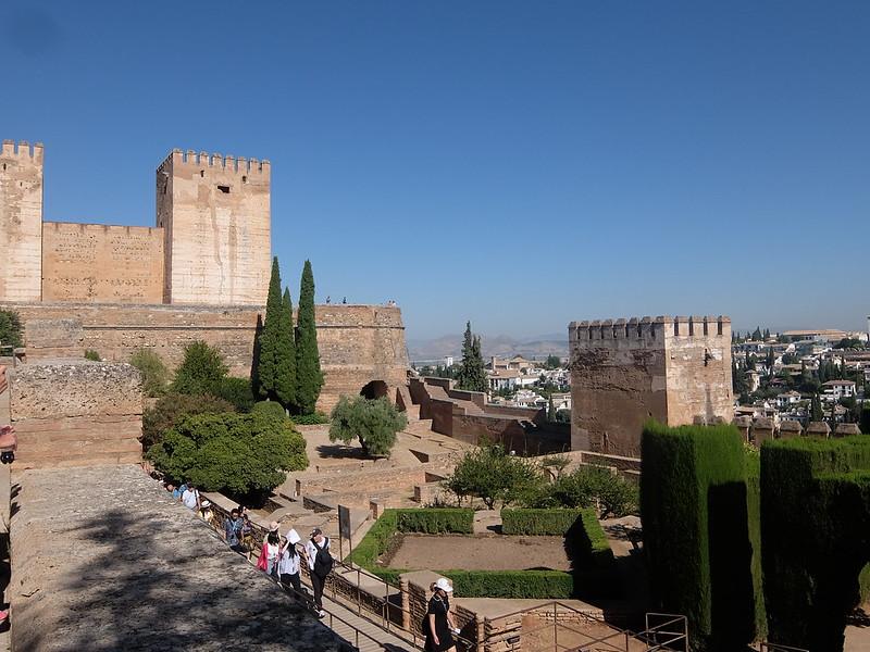 Альгамбра - Алькасаба