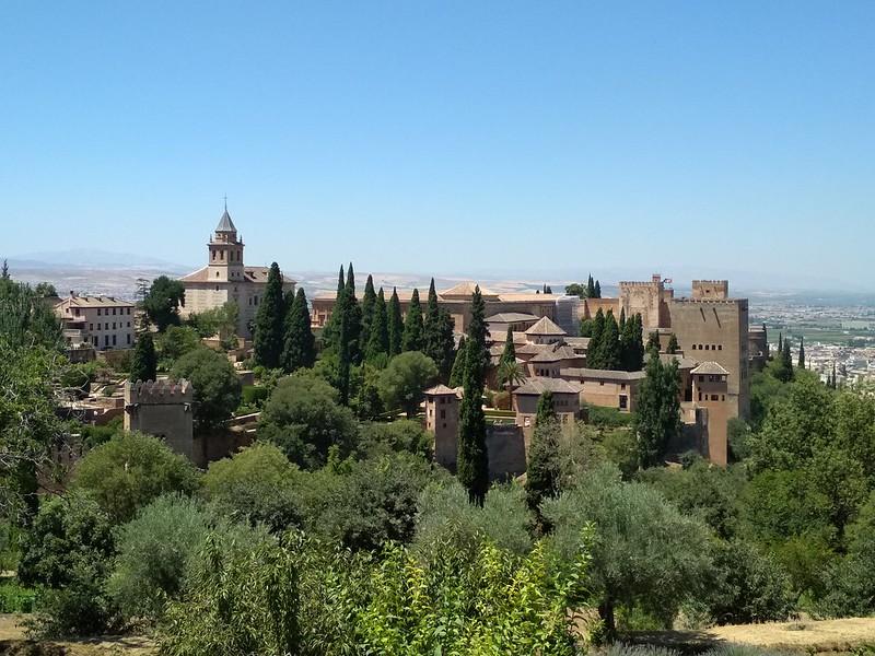 Древняя Альгамбра