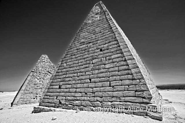 Pyramids at Jebel Barkal, SUDAN