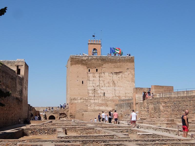 Альгамбра - Алькасаба - Дозорная башня