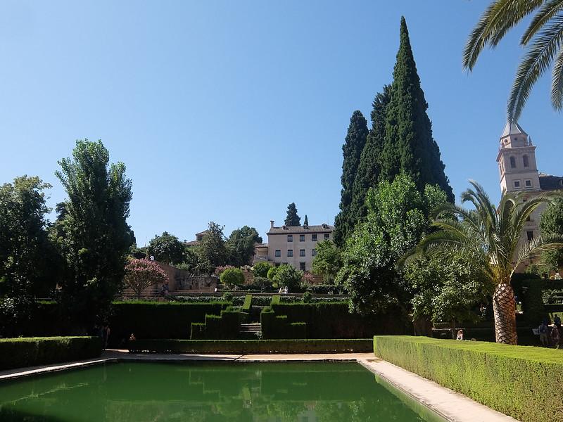 Альгамбра - Сады Парталь