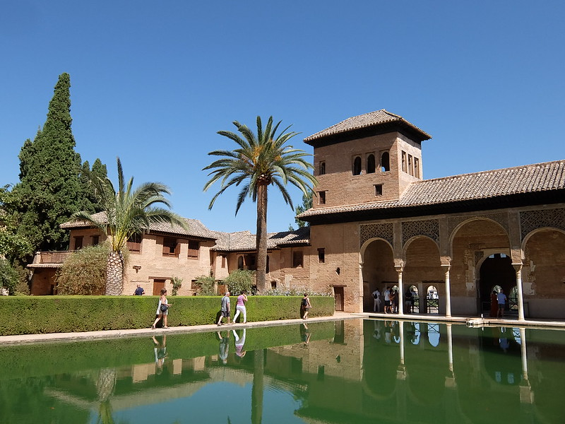 Альгамбра - Дворец Парталь