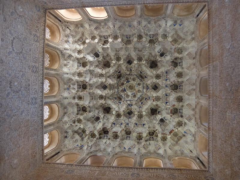 Альгамбра - Дворец Насридов - Потолок в Зале Королей