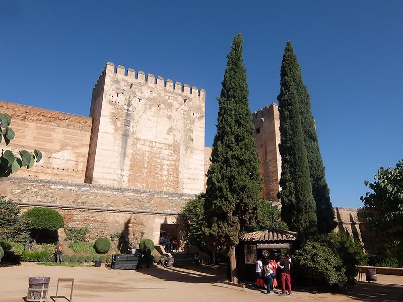 Альгамбра - Вход в Алькасабу