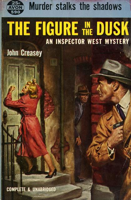 Avon Books 590 - John Creasey - The Figure in the Dusk