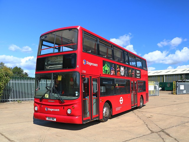 Bromley Bus Preservation Group - Stagecoach London - TA1 - S801BWC