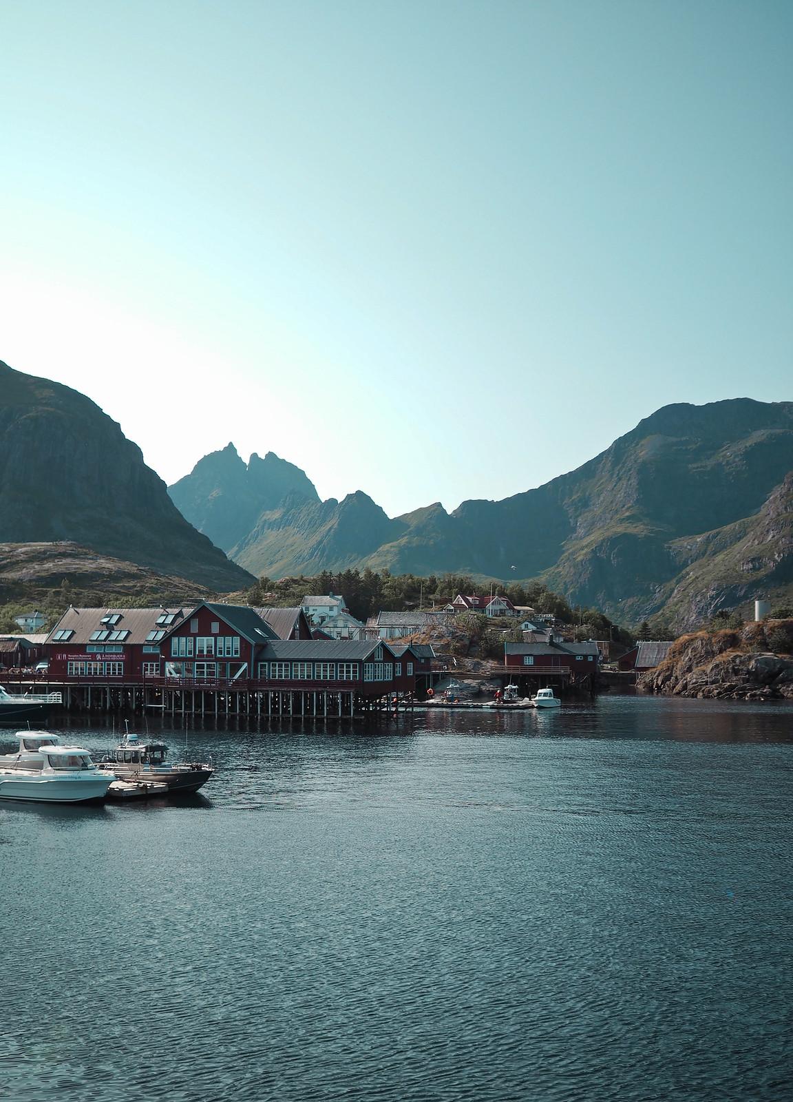 reine ja å kalastajakylät norjassa