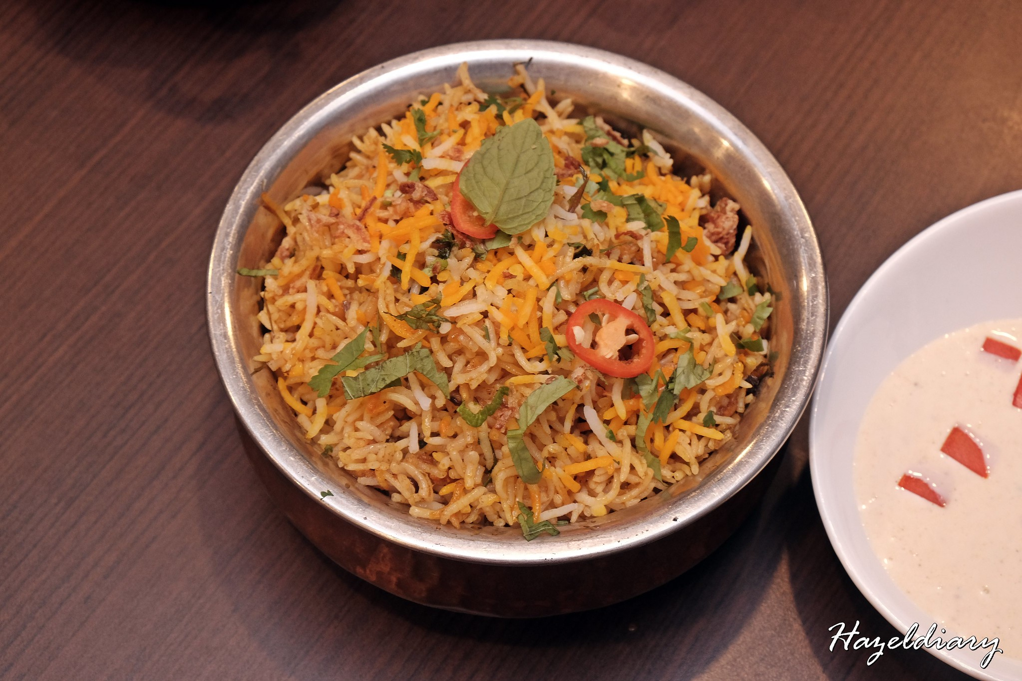 Indian Express-Chicken Dum Briyani