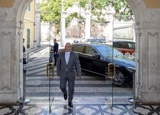 19.09. Secretário Executivo recebeu Embaixador do Irão