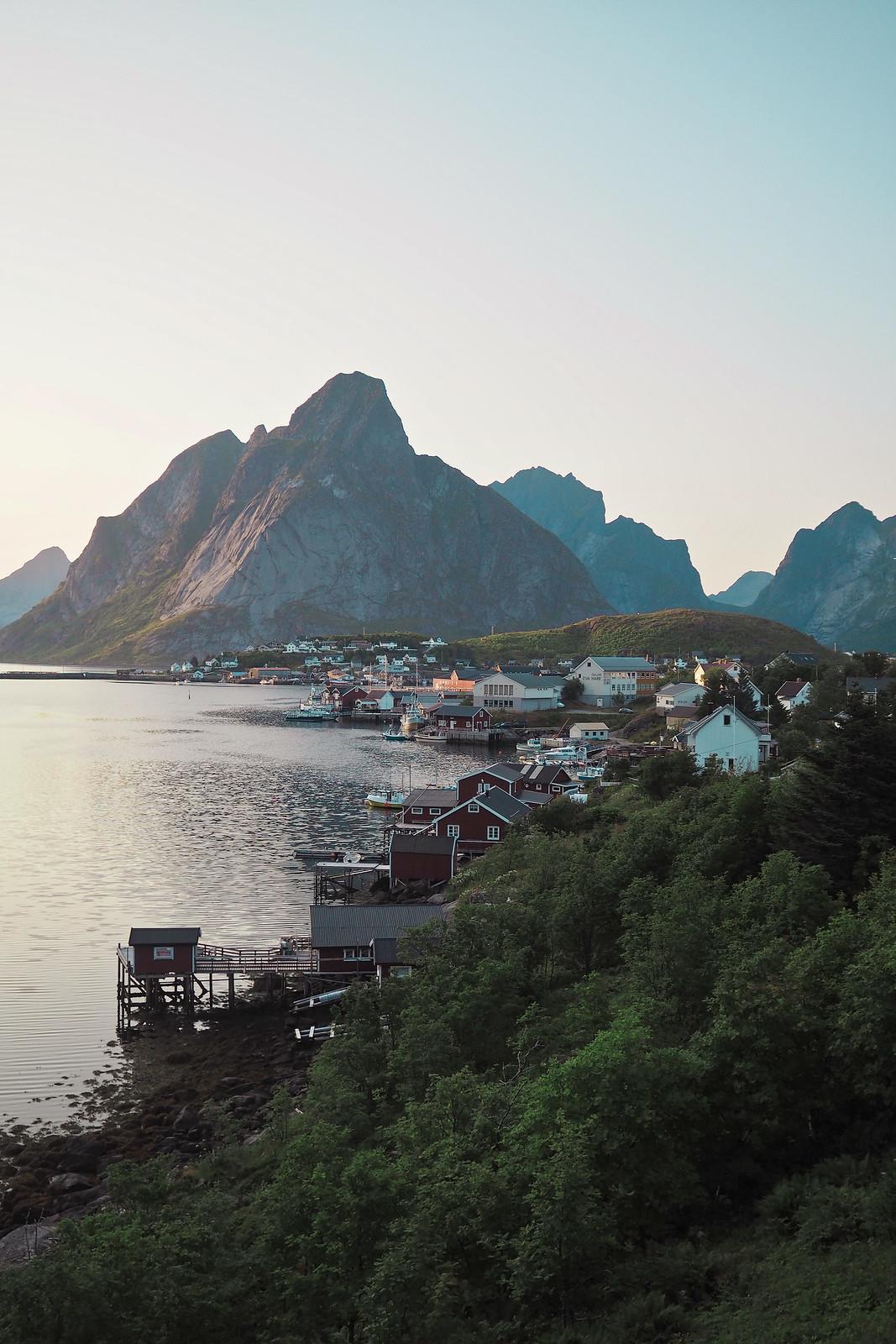 kalastajakylä reine