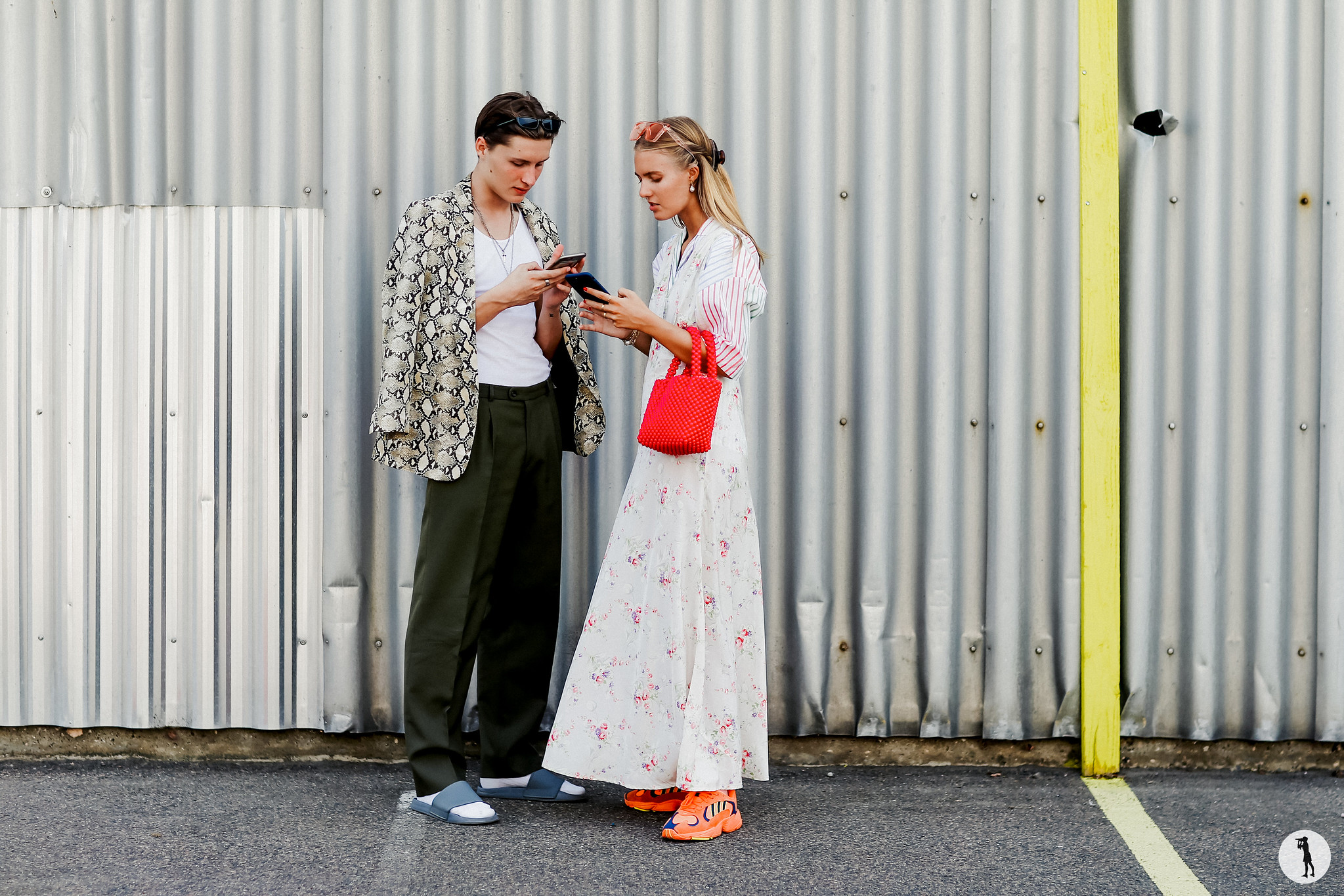 Anna Sarlvit and Rasmus Baun Bartram - Copenhagen Fashion Week SS19 (1)