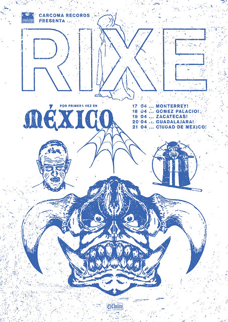 2018.04 Rixe Mexico Tour Flyer