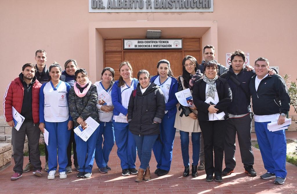 2019-09-04 MARCIAL QUIROGA: Se capacitó al personal de enfermería de reciente ingreso