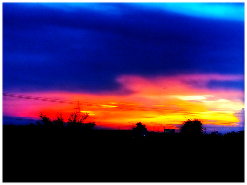skyline skyglory redminote7 chinesemobile evening