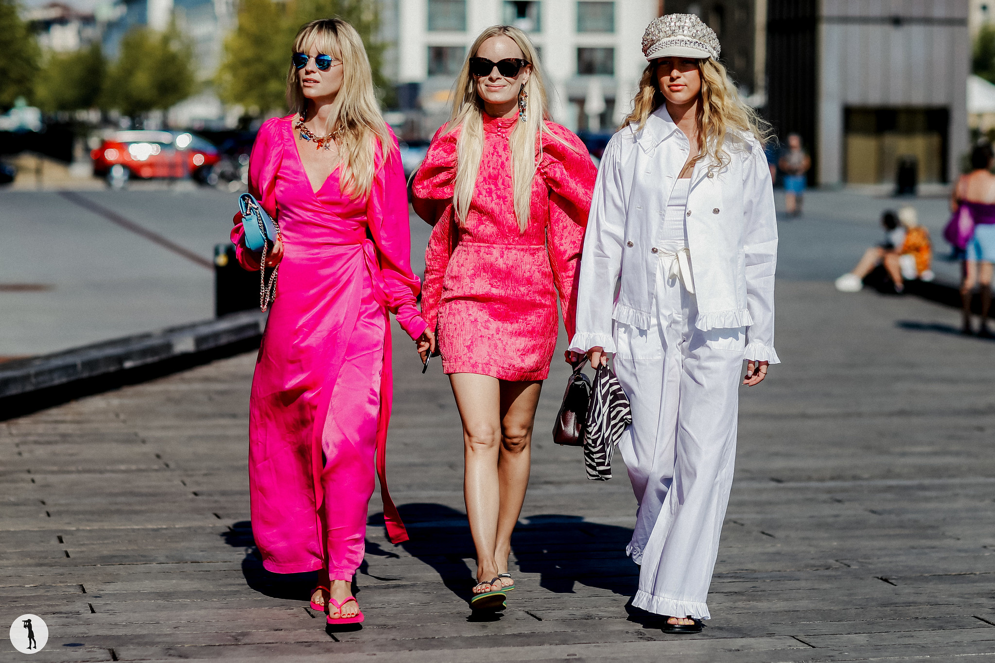 Jeanette Friis Madsen, Thora Valdimars and Emili Sindlev - Copenhagen Fashion Week SS19 (3)